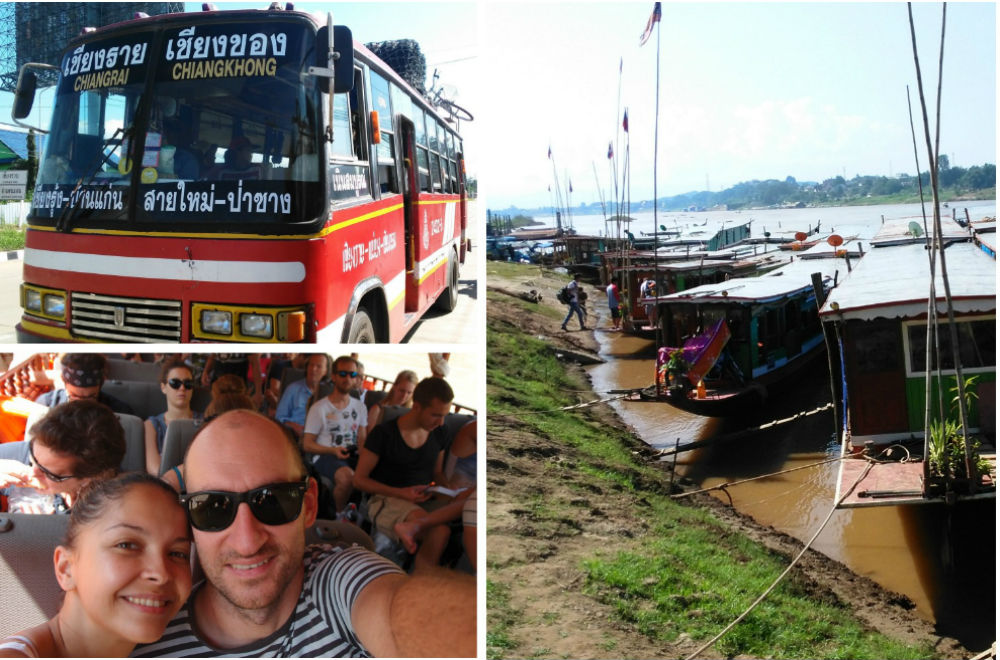 Bus from Chiang Rai to Chiang Khong