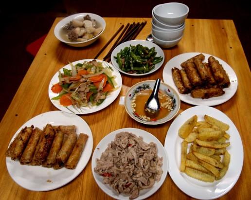 homestay dinner sapa