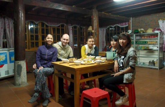 homestay dinner sapa