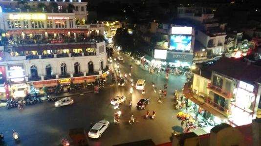 hanoi evening