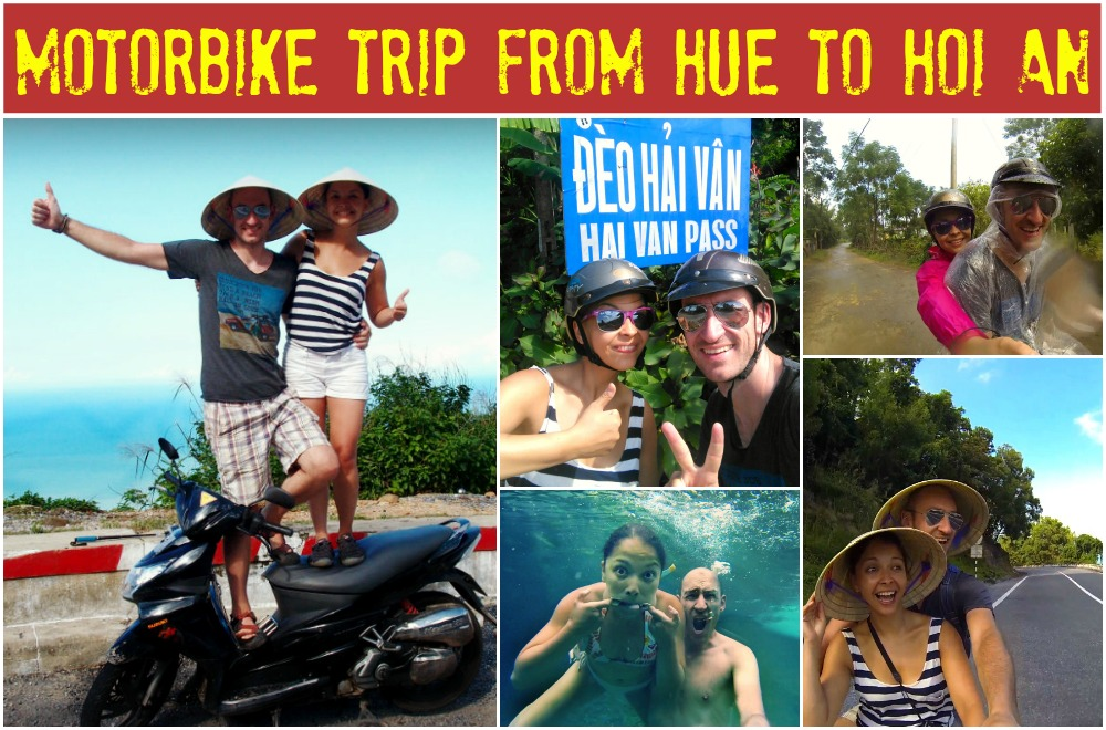 Motorbike trip from Hue to Hoi An Top Gear style