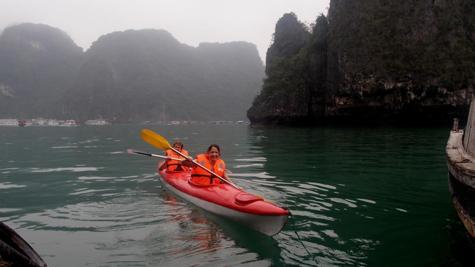 halong bay 2 days cruise