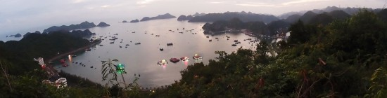 cat ba island cannon fort view point