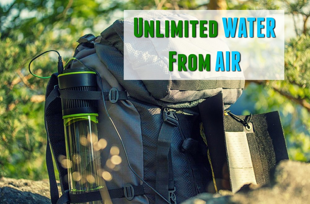 unlimited water from air