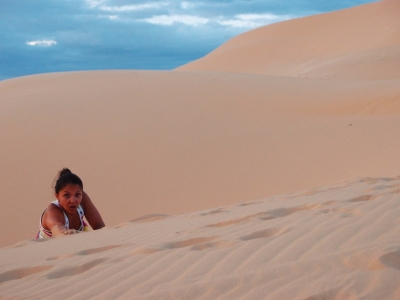 Sand dunes in Mui Ne Vietnam