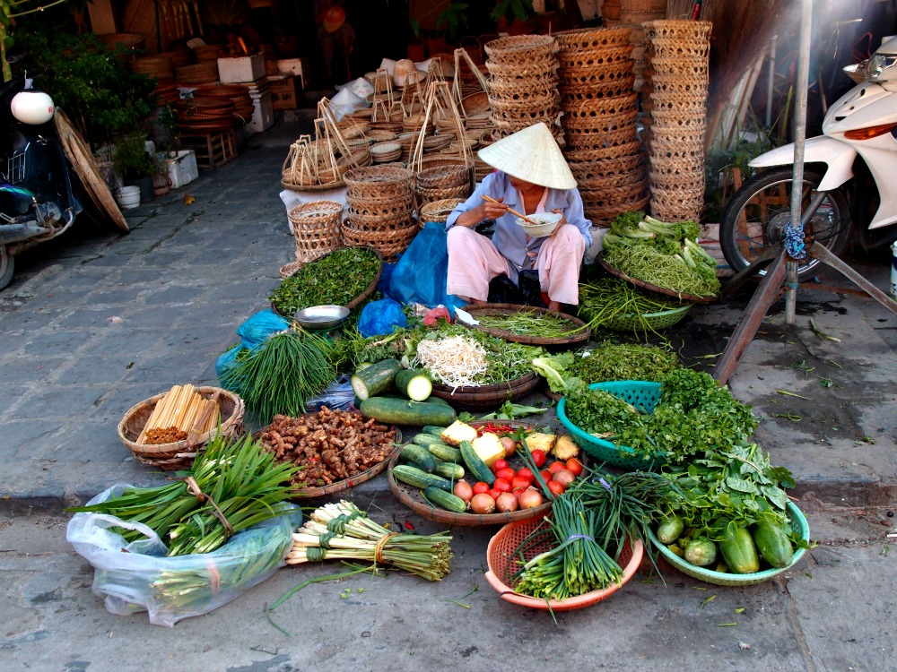Hoi An local market