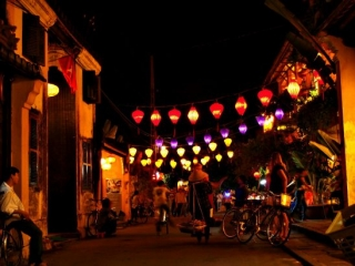 Hoi An night scene